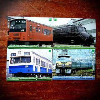 Railway Collection Cards#1