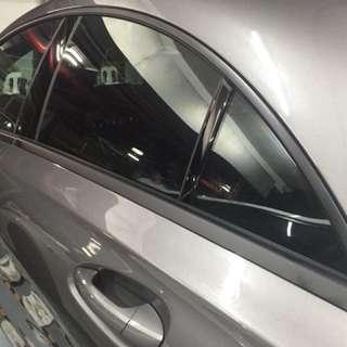 Window trim dechrome
