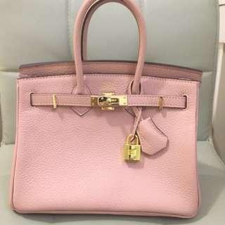 H Birkin 25 Pink