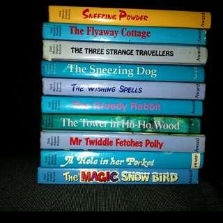 10 Enid Blyton hardcover story books for children