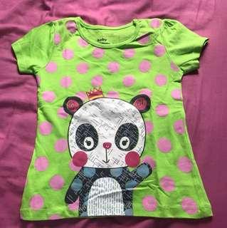 Queen panda tshirt