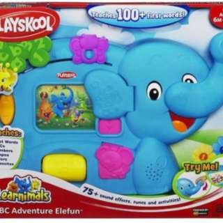 Playskool alphabet elephant