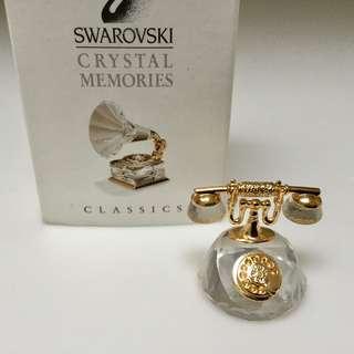 Swarovski Crystal Memories Miniature Retro Phone -  A Precious Collectible