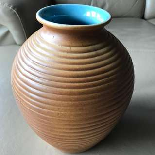 Antique clay vase