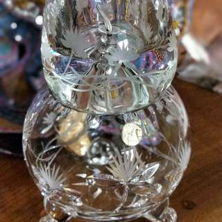 Crystal Oil Lamp