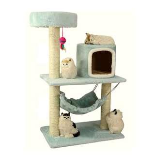 {In Stock} Cat Condo/Scratcher K88 (Baby Blue, Brown, Grey)
