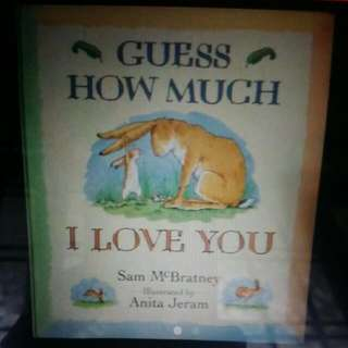 Biggest Story Book- 13.5 X 15.5 Inches Guess How Much I Love You
