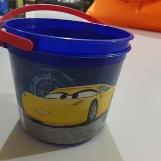 Disney Cars Bucket