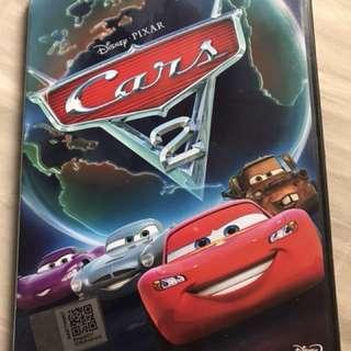 Preloved Original Cars 2 DVD