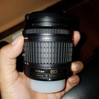 Nikon 18-55mm f3.5-5.6 VR