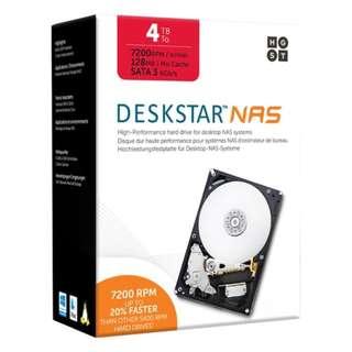 HGST 4TB Deskstar HDD - NEW