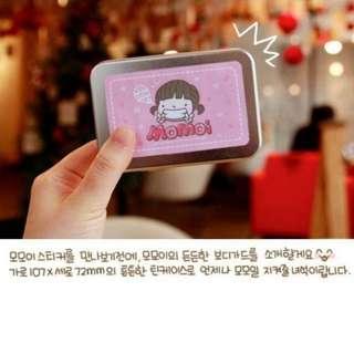 Korean momoi stickers without box