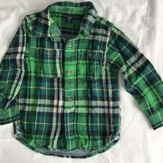 Baby Gap Plaid Shirt