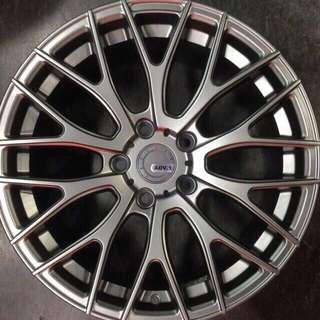 """18"""" Rims Fits Volvo, Citroen, Peugeot"""