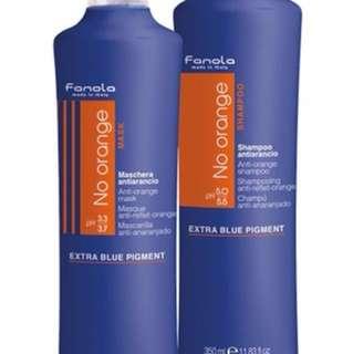 Blue / purple shampoo