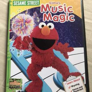 Preloved Original Sesame Street Elmo Music Magic DVD