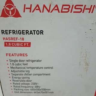 Hanabishi 1.8 Cubic Ft. REF