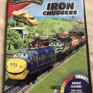 Preloved Original Chuggington Iron Chuggers DVD