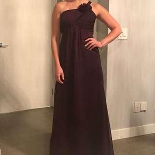 Elegant Belsoie Gown - Purple