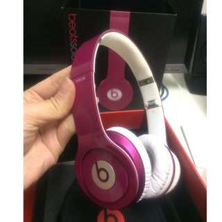 Original Beats Solo HD On-Ear Headphone - Pink