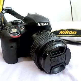 DSLR Nikon D3300 set