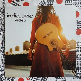 "INDIA.ARIE - VIDEO (2001) 12"" vinyl record"