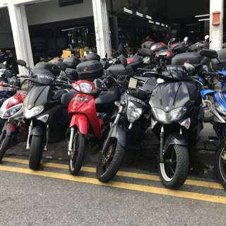 Motorcycle leasing / rental motorcycle
