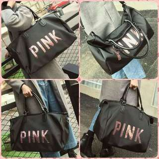 VS BLACK TRAVELING BAG