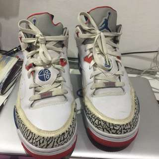 Jordan Son Of Mars Low True Blue Red  Cement