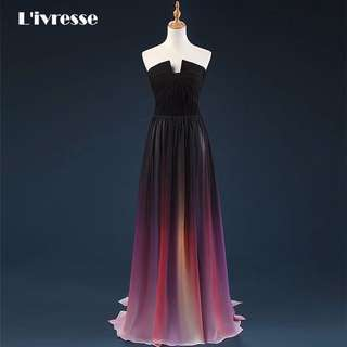 Ombré Prom Dress