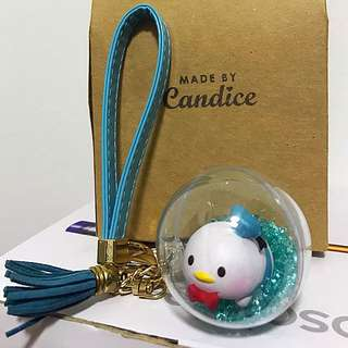 Donald Duck In Glass Ball
