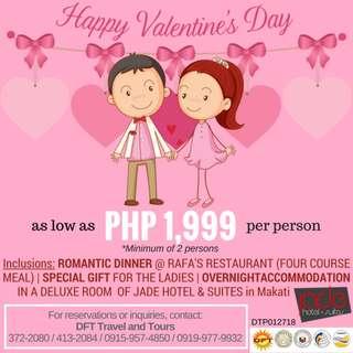 2018 Valentine's Day Promo