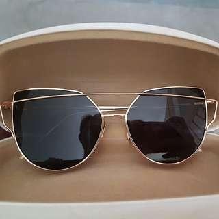 As good as new Korean design sunglasses 100% UV protection