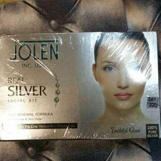 (TGN) Jolene real silver facial kit