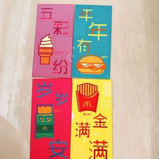 McDonald's red packet / Ang Pao