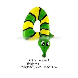 Animal 4 balloon