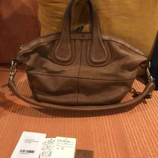 Givenchy Nightingale small with cards, leather swatch, dustbag