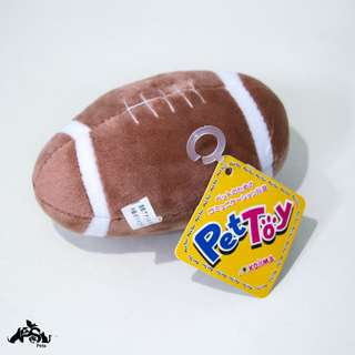 NEW Rugby Ball/ Football Plush Toy