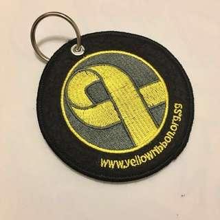 Yellow Ribbon Key Tag