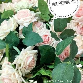 Bunga mawar soft pink