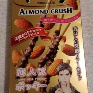 Pocky almond crush!!
