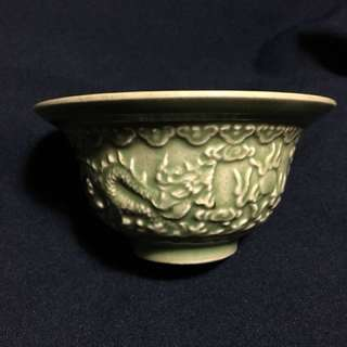 Ming Era imperial kiln 官窯精品小碗12 cm diameters 6cm high. 特別價180 元,可以商議。