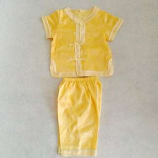 Yellow Samfu for boy
