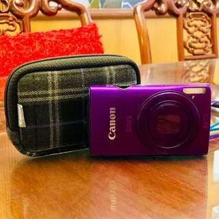 USED ONE TIME ONLY Canon IXUS 230 HS Camera with Original Canon Pouch