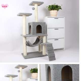 Cat Scratching Tree/ Cat Climbing Tree/ Cat House