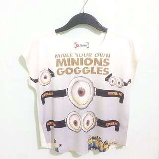 Minion Crepe Top