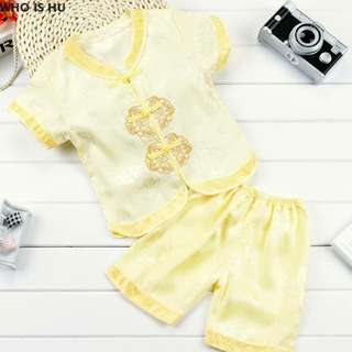 Readystock CNY Clothes - Gold
