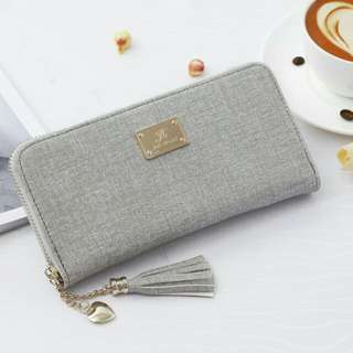 Henna wallet *grey