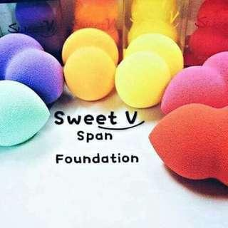 12PCS - Teardrop Blended Sponge SWEET V