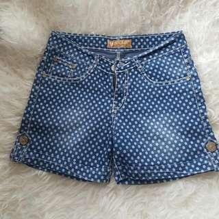 Hotpants Jeans Polkadot